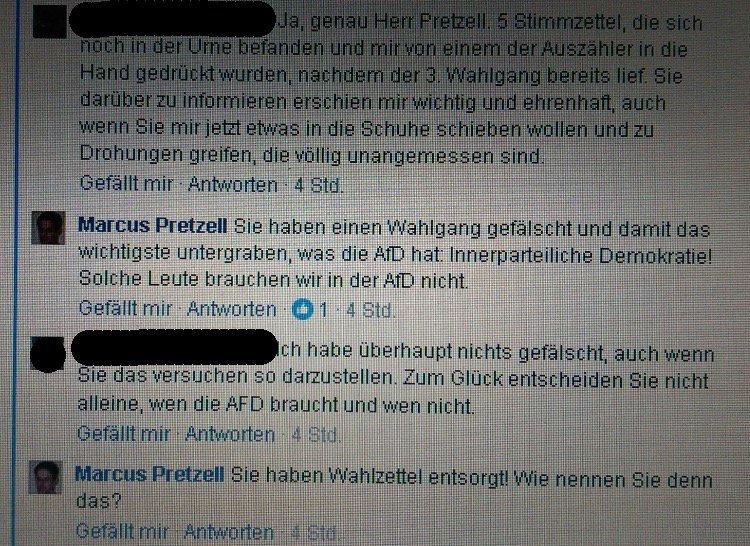 Screenshot Wahlfälschung bei der AfD