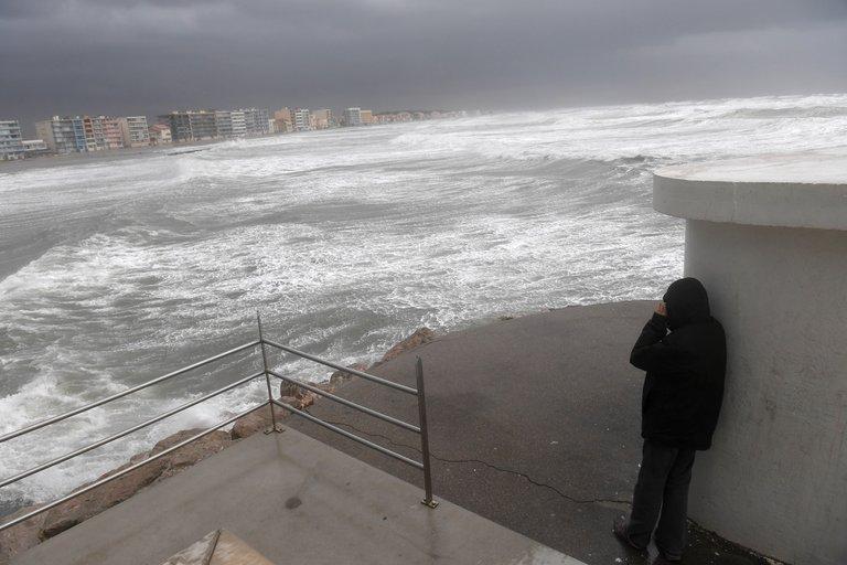 Sturm vor Palavas