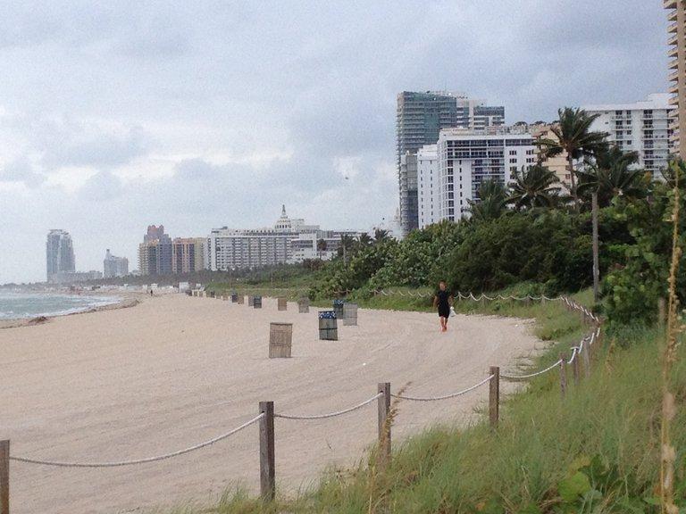 Strand und Dünen von Miami