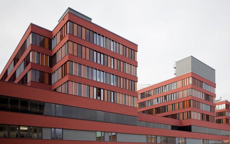 Blick auf das Klinikum Offenbach.