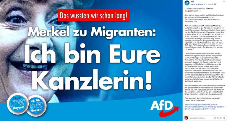 u201ekanzlerin der migranten u201c   u2014 das hat angela merkel im ard