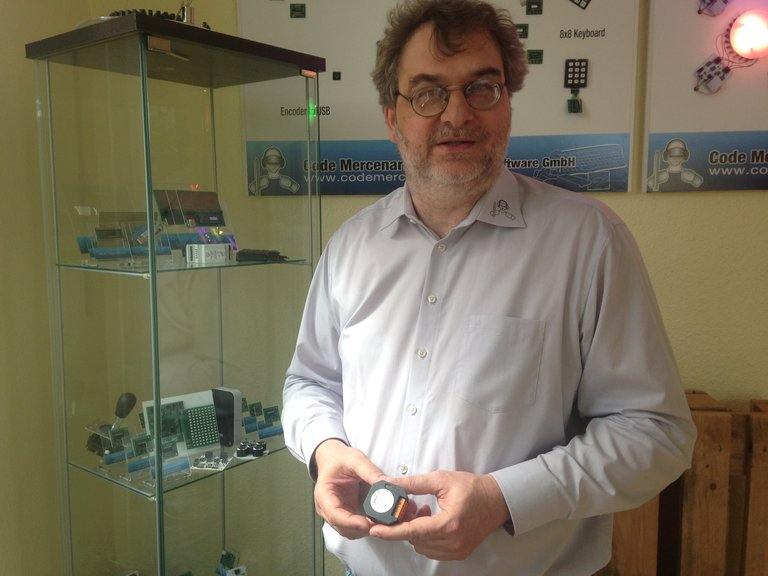 Guido Körber, Geschäftsführer der Berliner Firma Code Mercenaries
