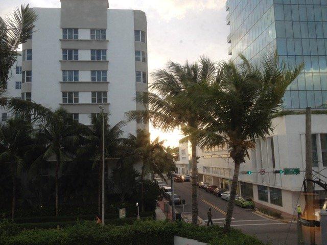 Morgens in Miami