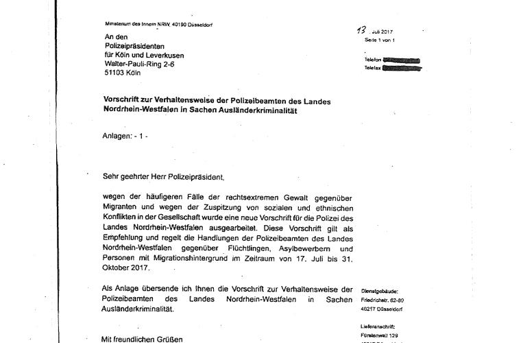 Briefe Schreiben Im Internet : Gefälschter brief des nrw innenministers correctiv