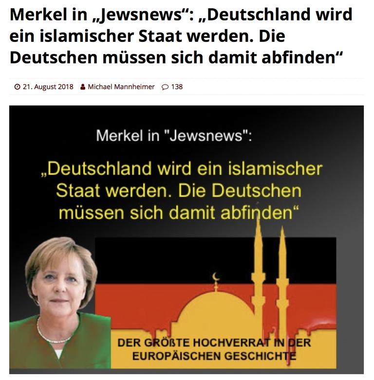 Merkel Zerstört Deutschland