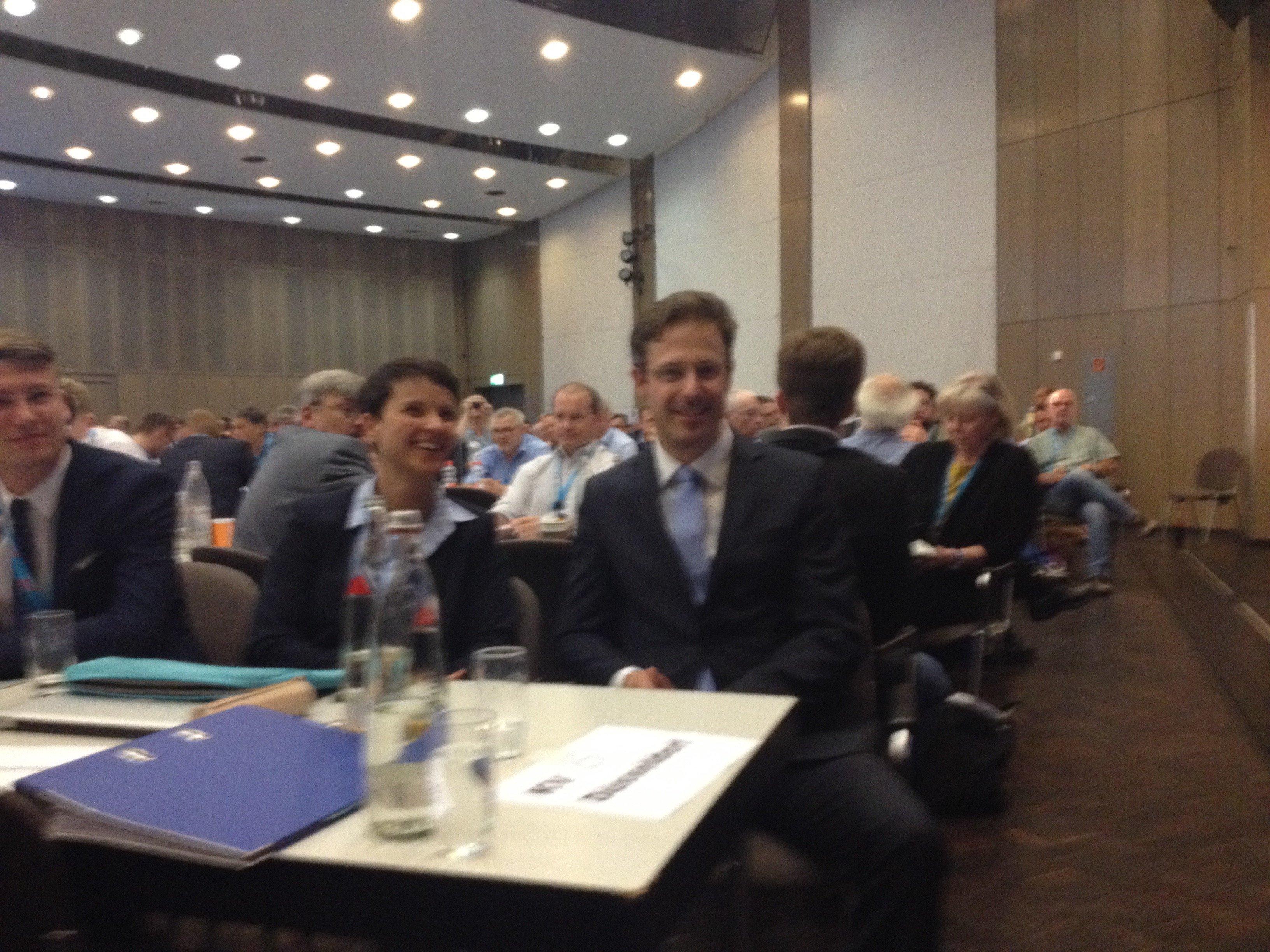 Frauke Petry und Marcus Pretzell in Soest