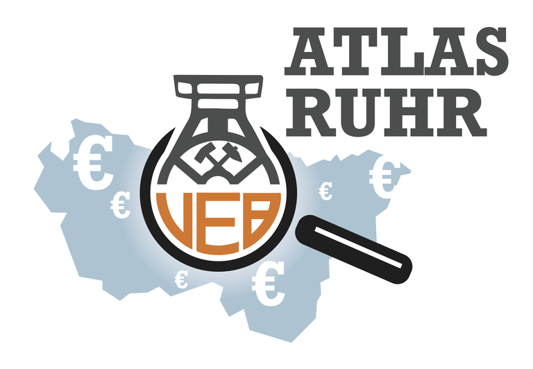 Filz Decke Ruhr Atlas VEB Logo