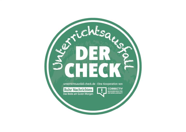 Unterrichtsausfall — check logo