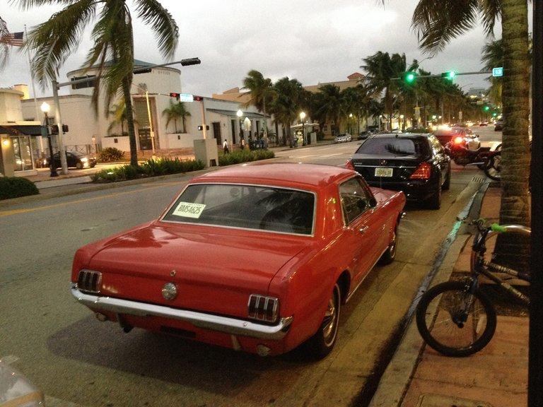 Straßenbild Miami