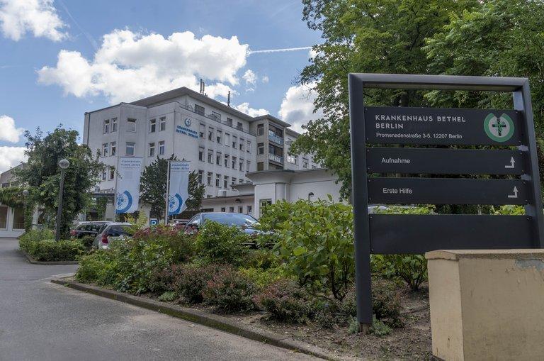 Das Bethel-Krankenhaus in Lichterfelde ist eines von 13 Häusern des BEFG in Berlin.