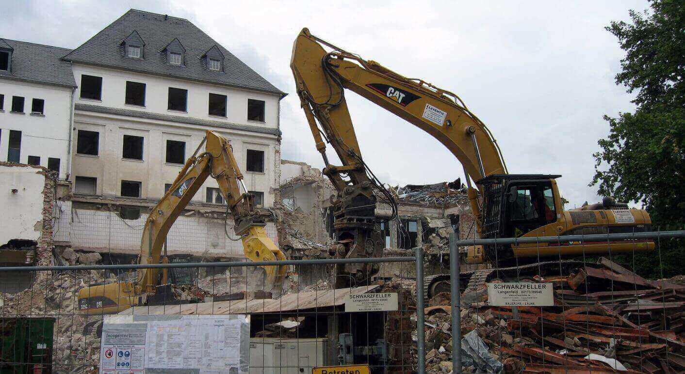 Baustelle In Mülheim Von Factoids Unter Lizenz CC BY NC 2.0