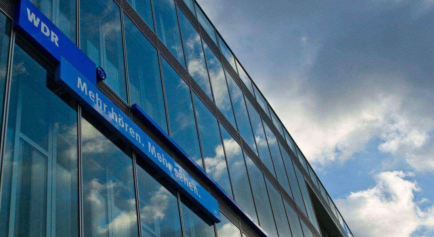 Mehr Hören. Mehr Sehen. Der WDR Ist Der Größte Regionalsender Der ARD. Wir  Waren Heute Zu Gast.© See More, Hear More Von Tnsasse, Lizensiert Unter CC  BY 2.0