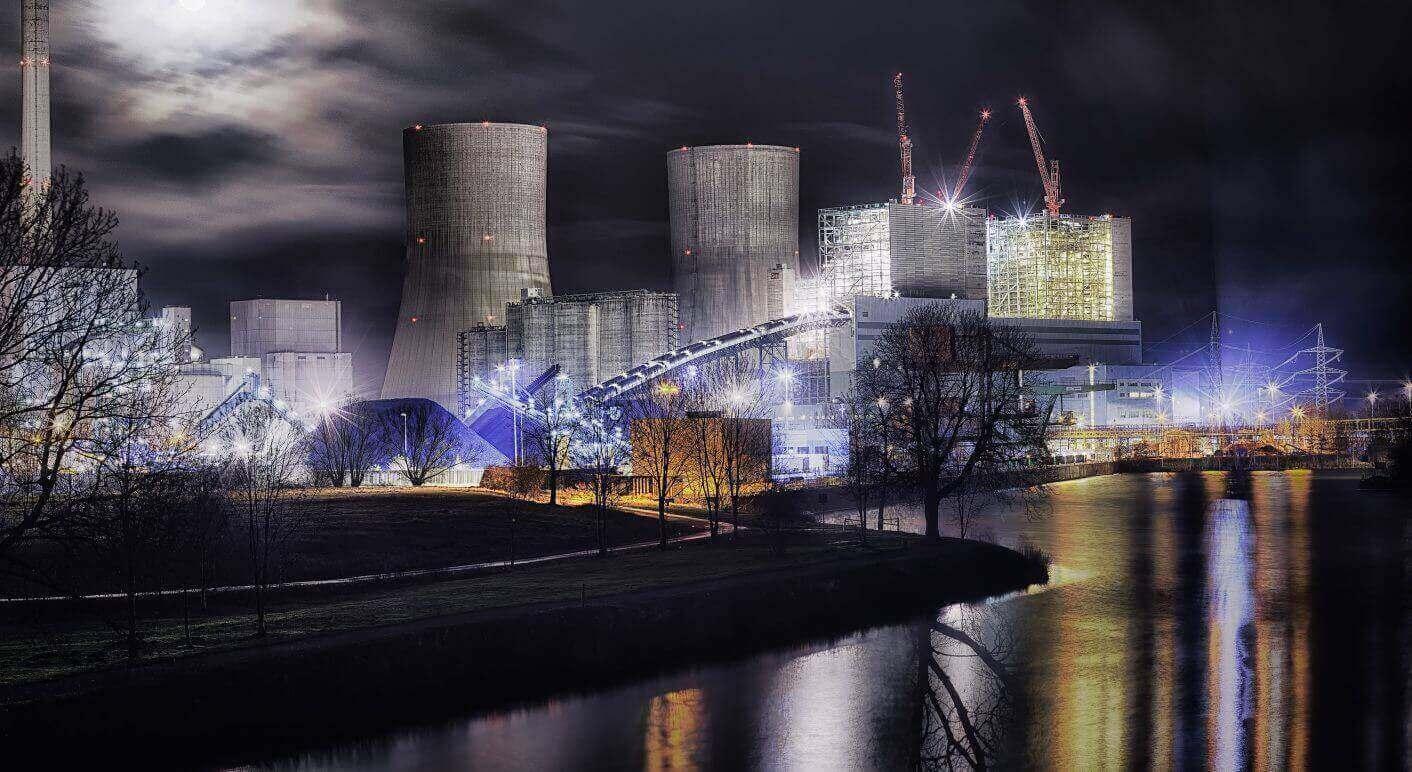 Das Kraftwerk Westfalen Von RWE. Ein Symbol Für Die Klimasünden Der Städte  Im Ruhrgebiet.© Power Plant Von Frank Friedrichs Unter BY NC ND 2.0