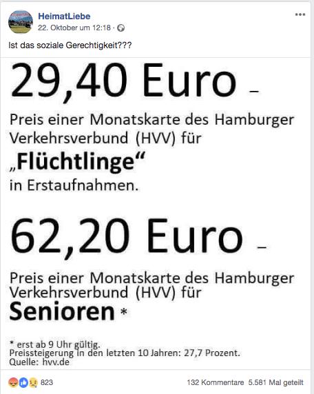 Hvv Karte Ab.Nein Senioren Zahlen Nicht Doppelt So Viel Für Eine Monatskarte Wie