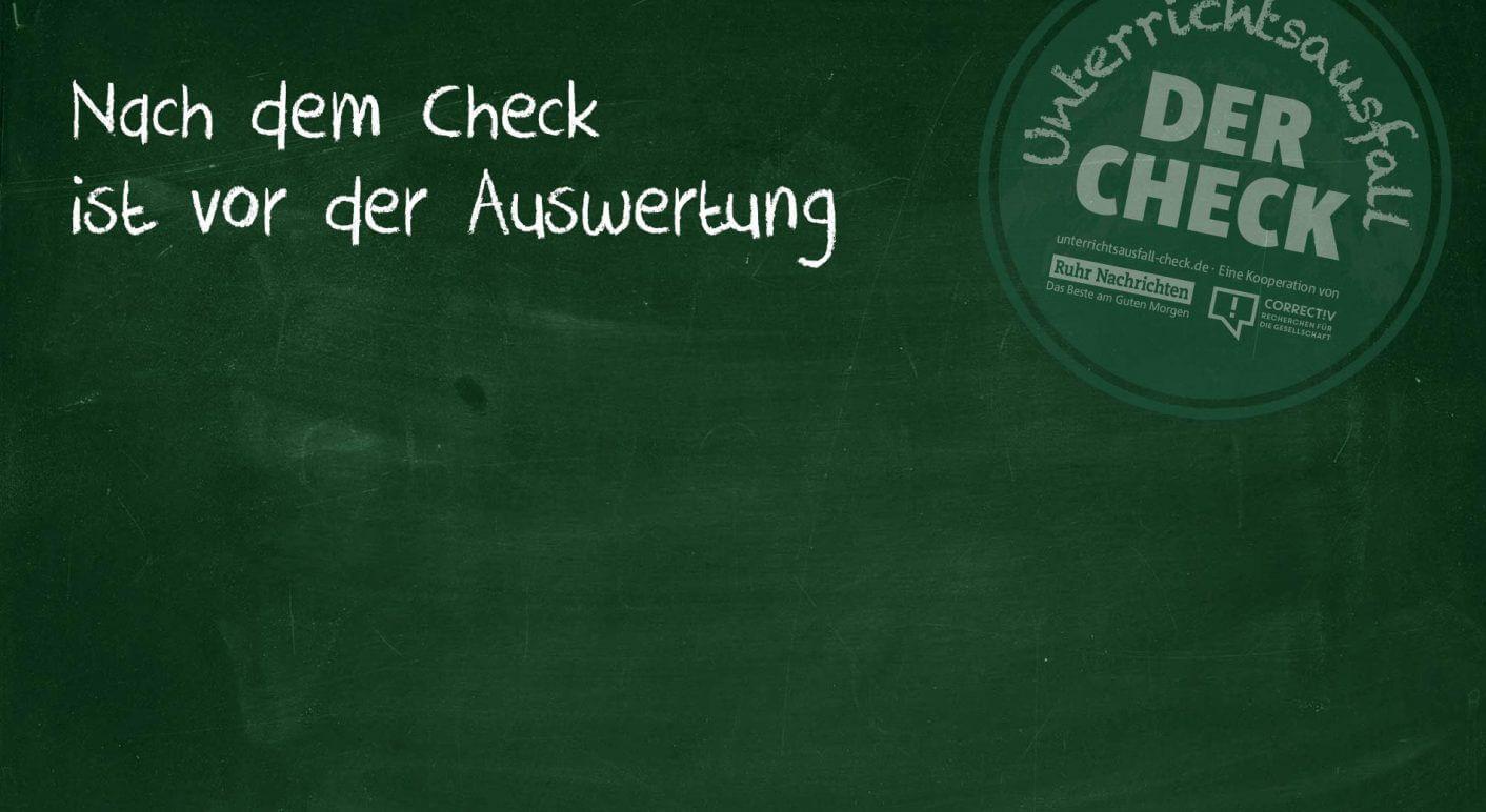 Unterrichtsausfall – der Check: Heute letzter Tag - correctiv.org