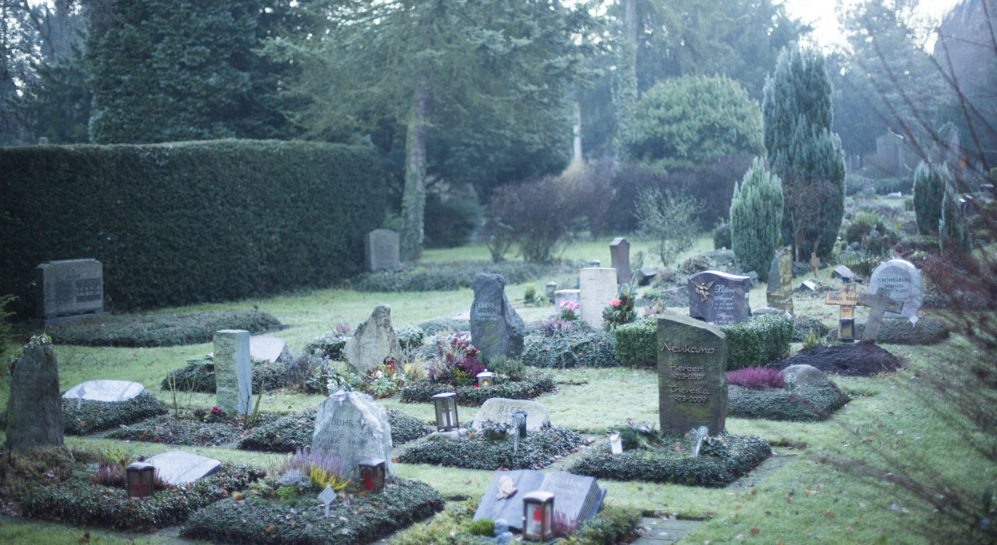 Graveyard: 10 million people will supposedly die of drug-resistant germs