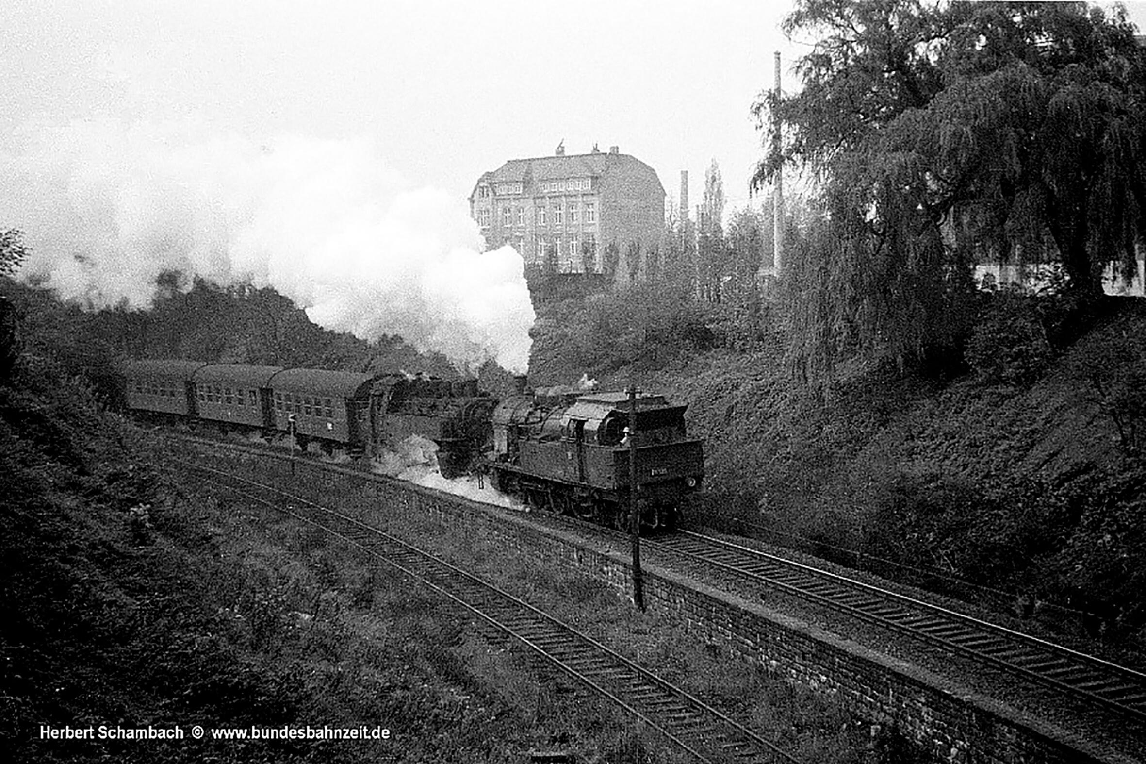 Kohle bremste Ruhr Schnellbahn aus