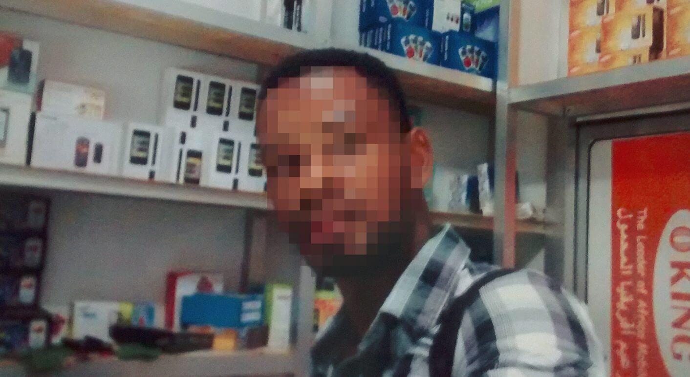 Wenn die Polizei kommt, dann rennt er. Amadou Diallo ist abgetaucht