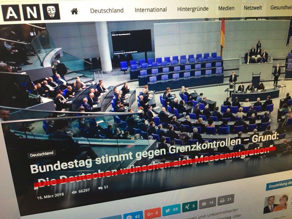 Die Deutschen Wünschen Sich Massenmigration Hat Der Spd Abgeordnete