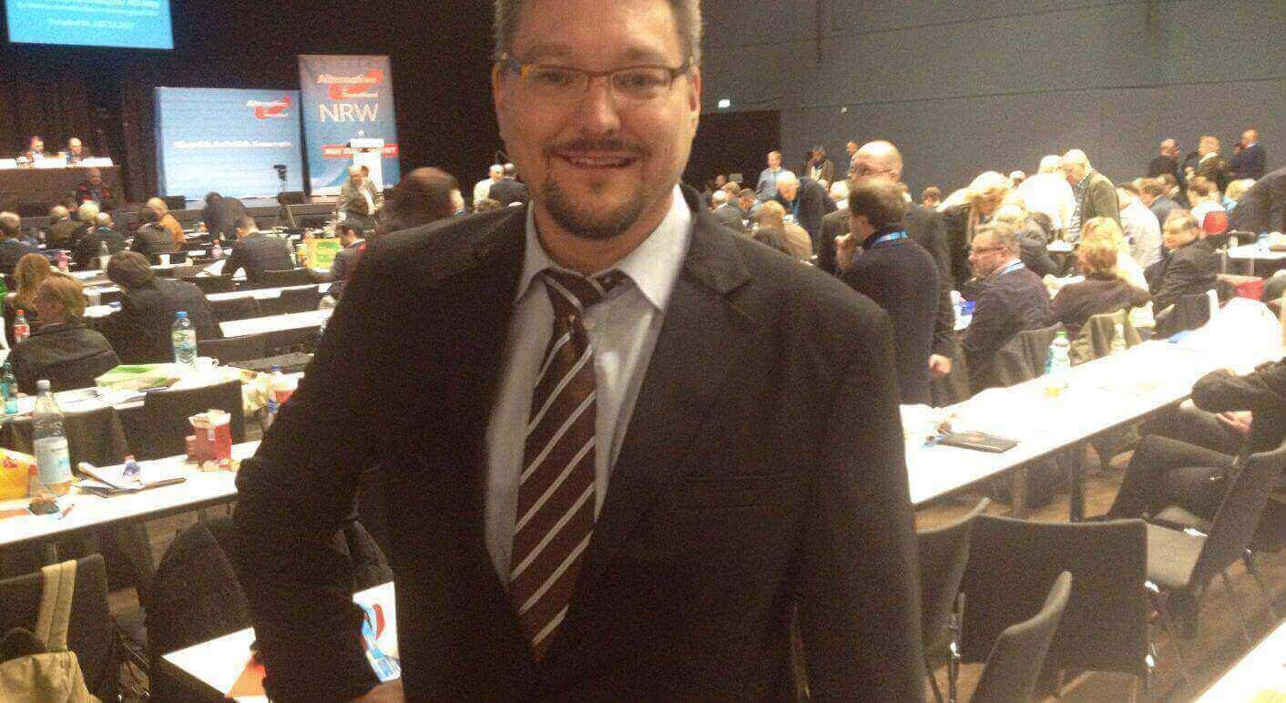 AfD-Chef von Essen Stefan Keuter