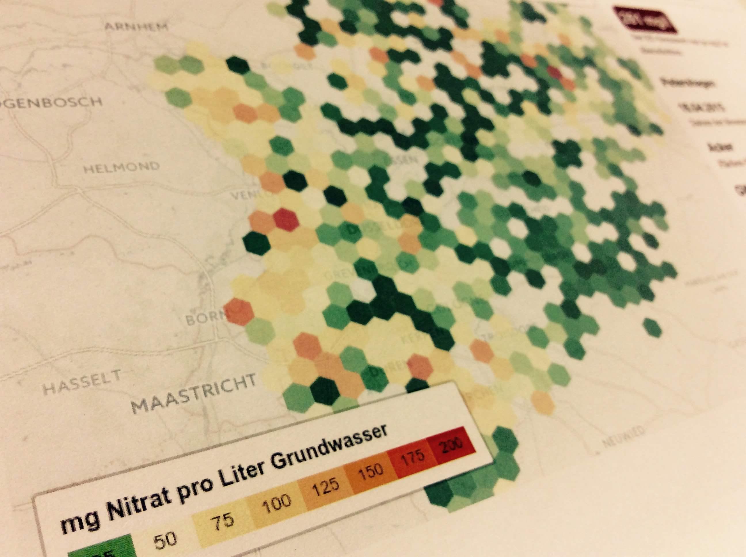Grundwasserstand Karte Nrw.So Stark Ist Deine Gemeinde Mit Nitrat Belastet Correctiv