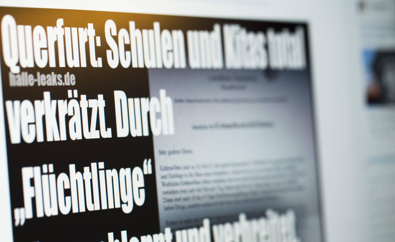 """Halle Leaks"""" berichtet falsch über Krätze-Fälle in Querfurter Schule ..."""