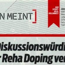 Jens Lehmann Doping For Rehab Alright