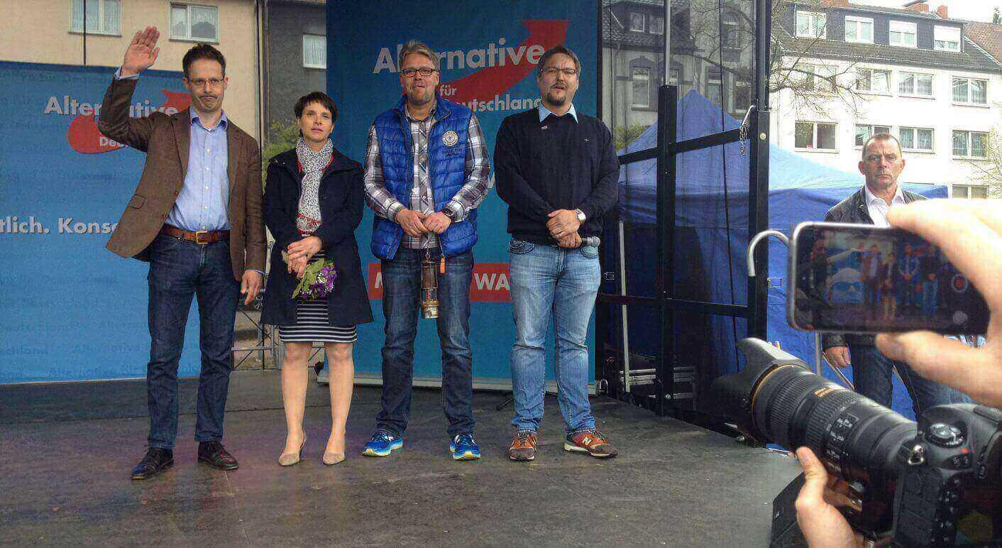AfD- Wahlkampfauftakt NRW