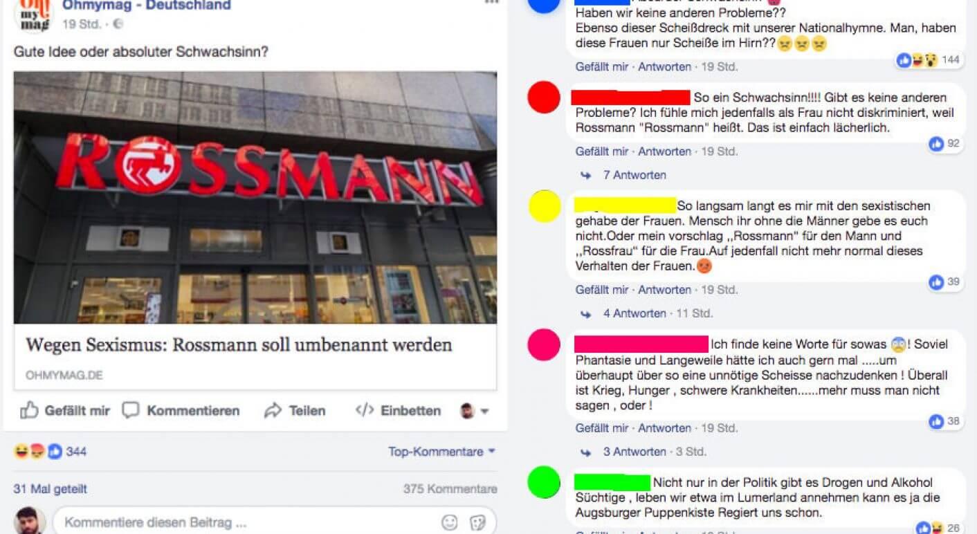 Drogeriekette Rossmann Wird Rossfrau Für Weltfrauentag Kampagne