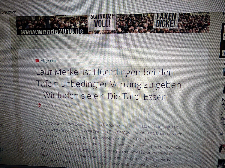 """Halleleaks"""" verbreitet Falschaussagen über Angela Merkel und die ..."""