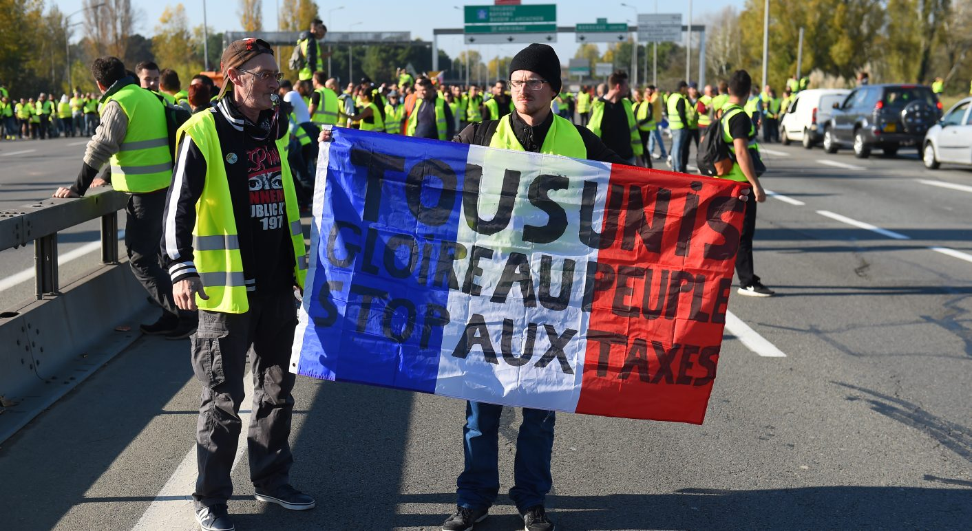 FRANCE-ECONOMY-POLITICS-GAS-TRANSPORT-DEMO