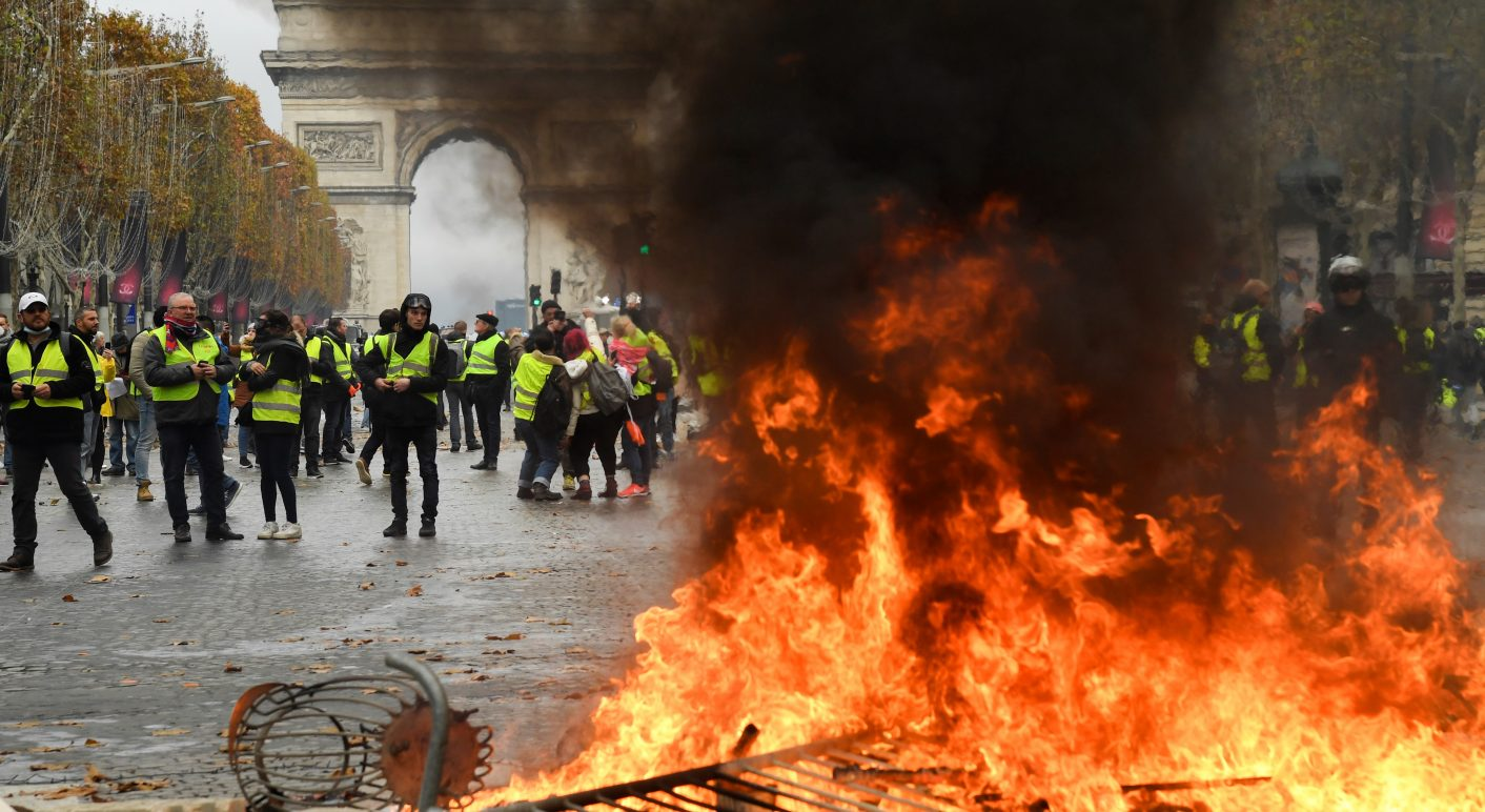 FRANCE-SOCIAL-POLITICS-ENVIRONMENT-OIL-DEMO