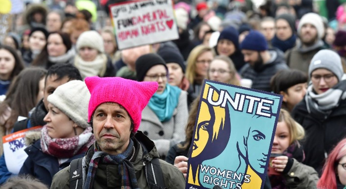 GERMANY-US-POLITICS-DEMONSTRATION-WOMEN'S-MARCH