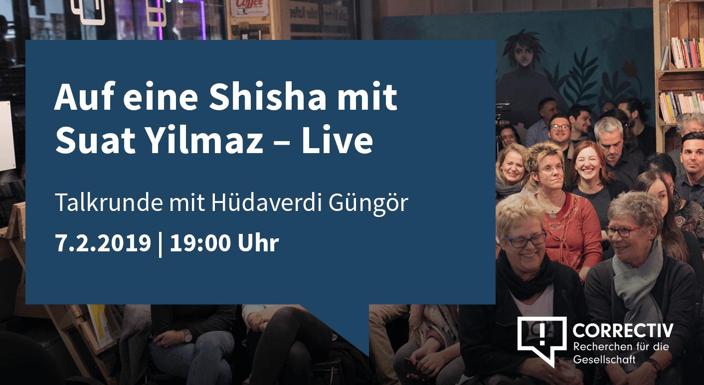 Auf eine Shisha mit Suat Yilmaz – Live