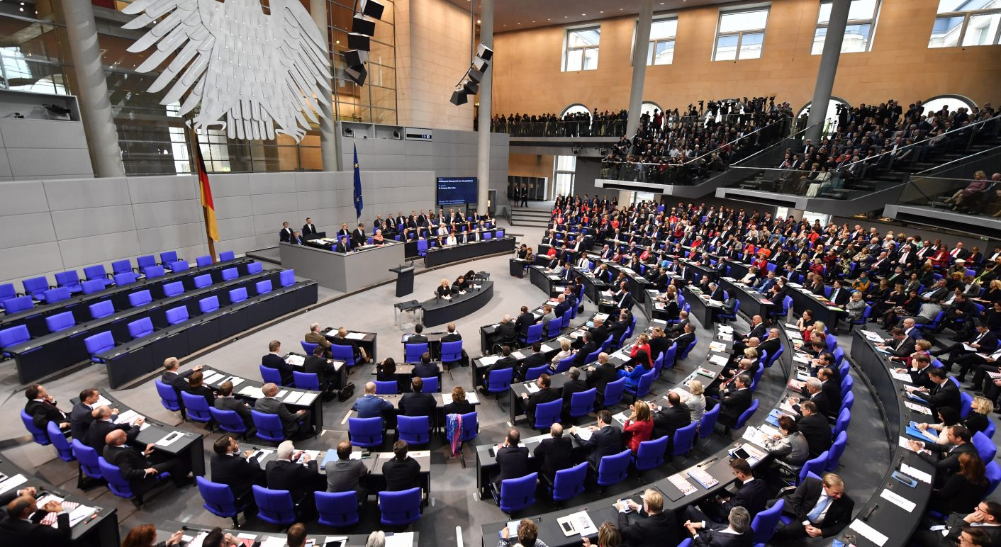 GERMANY-POLITICS-PARLIAMENT