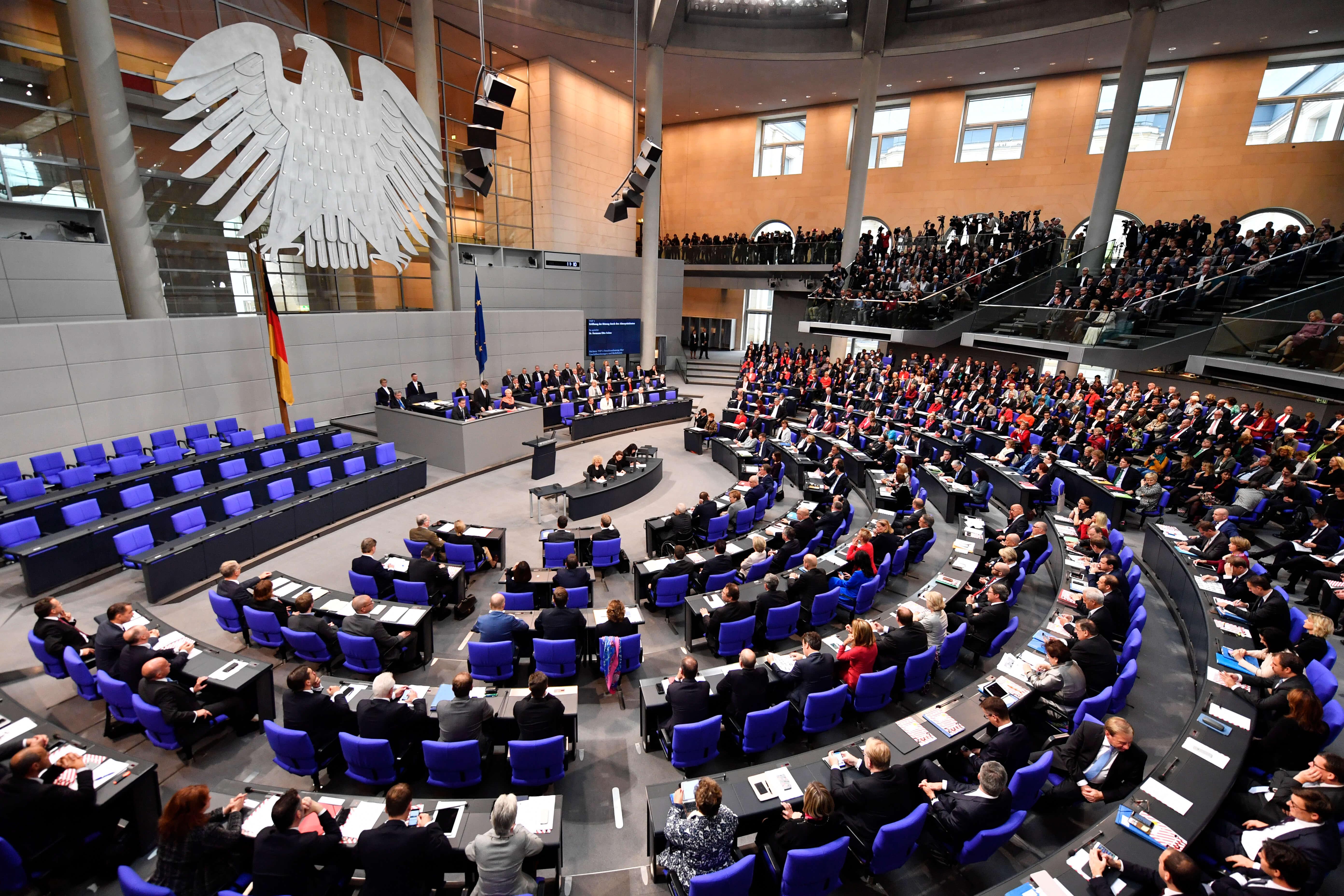 GERMANY-POLITICS-PARLIAMENT