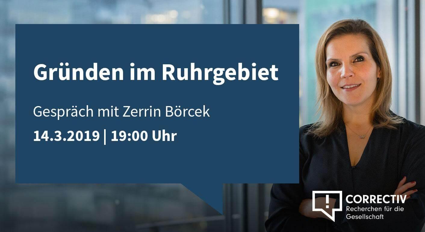 Gründen im Ruhrgebiet - Gespräch mit Zerrin Börcek