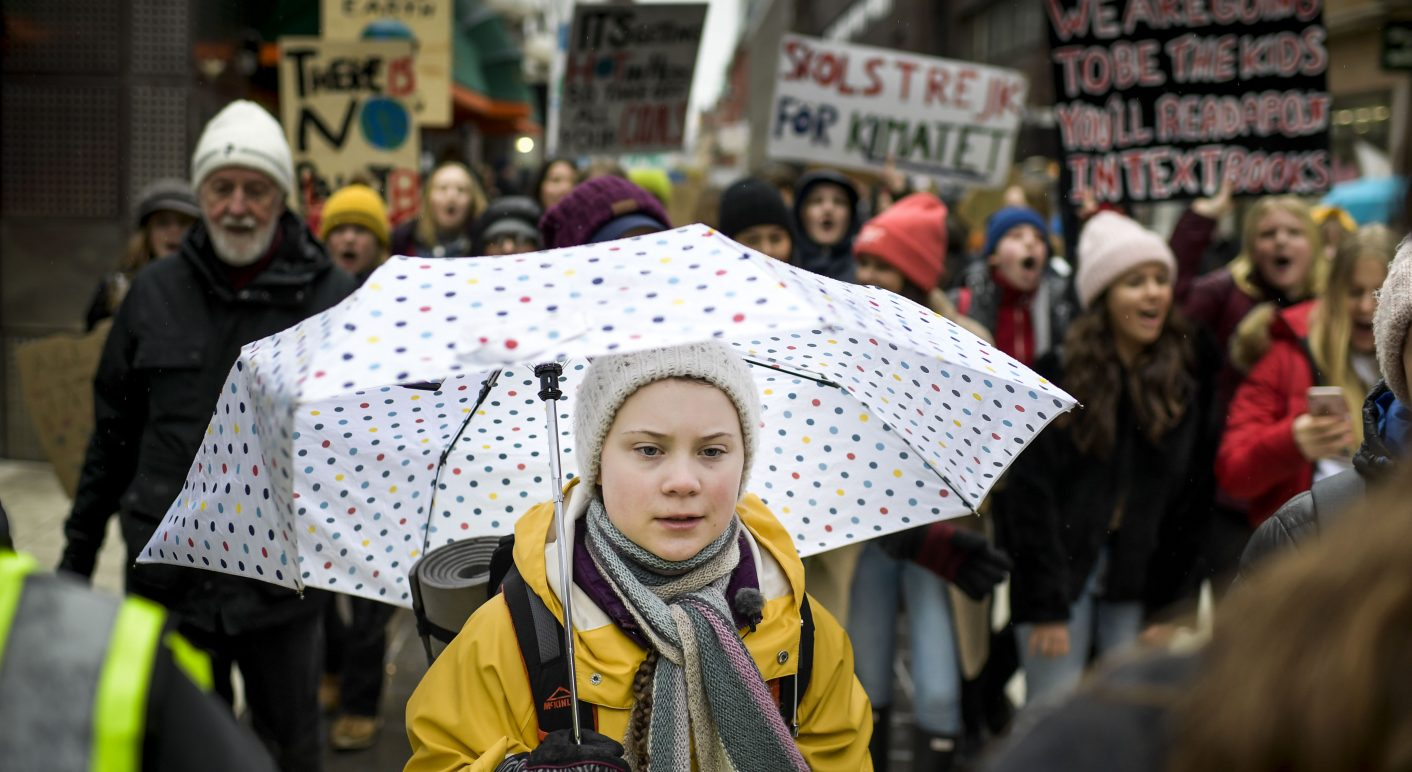 SWEDEN-ENVIRONMENT-CLIMATE-YOUTH-DEMO