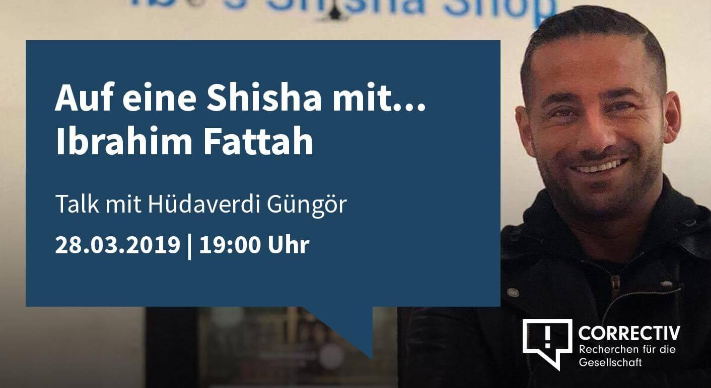 Auf eine Shisha mit Ibrahim Fattah