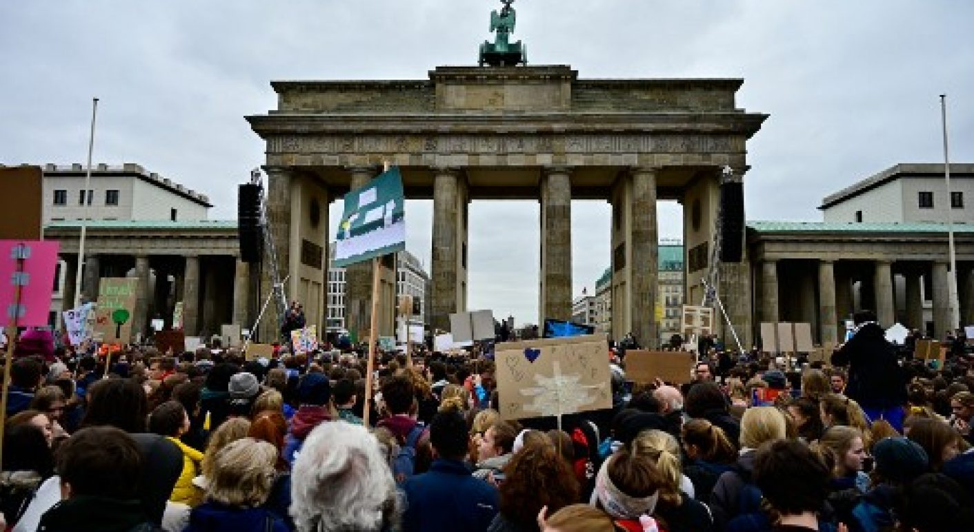 GERMANY-POLITICS-CLIMATE-ENVIRONMENT-DEMONSTRATION