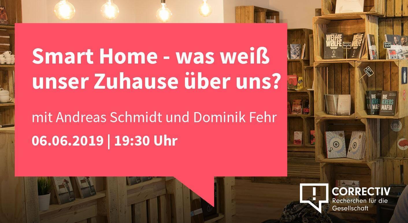 Smart Home - Was weiß unser Zuhause über uns?