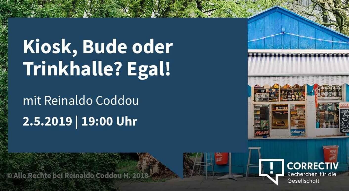 Kiosk, Bude oder Trinkhalle? Egal!