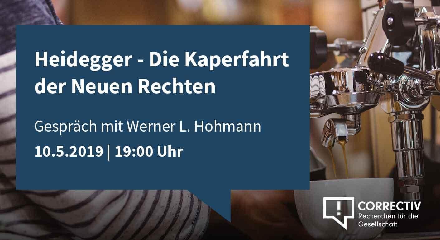 Heidegger - Die Kaperfahrt der Neuen Rechten