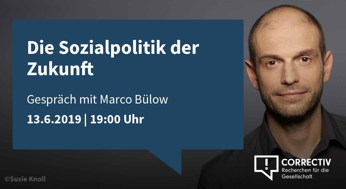 Die Sozialpolitik der Zukunft - Gespräch mit Marco Bülow