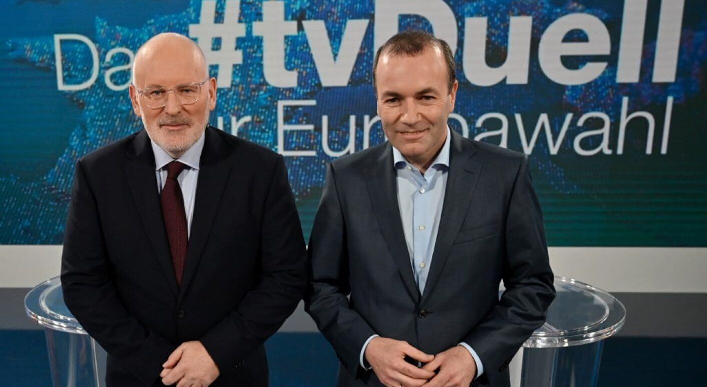 GERMANY-EU-VOTE-POLITICS-TV DEBATE