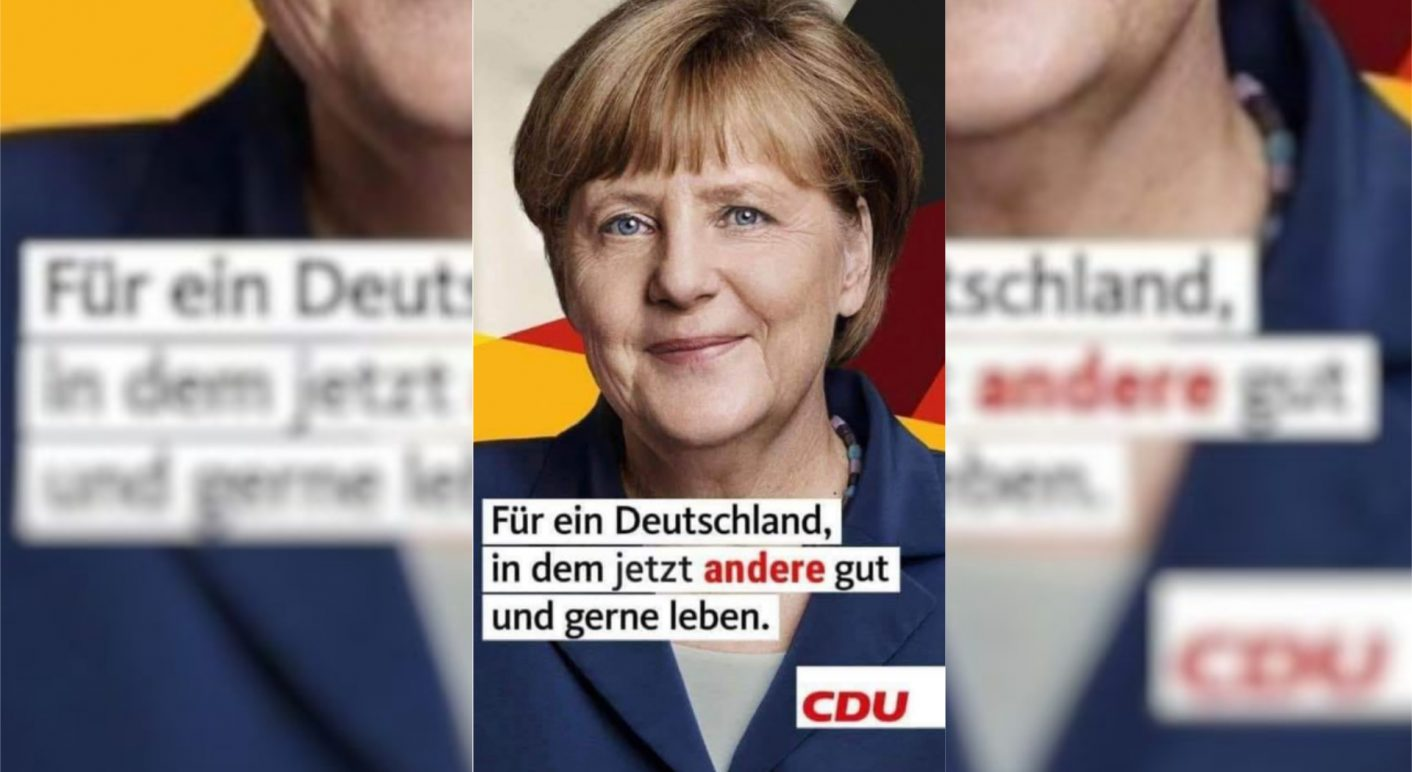 Fälschung Merkel