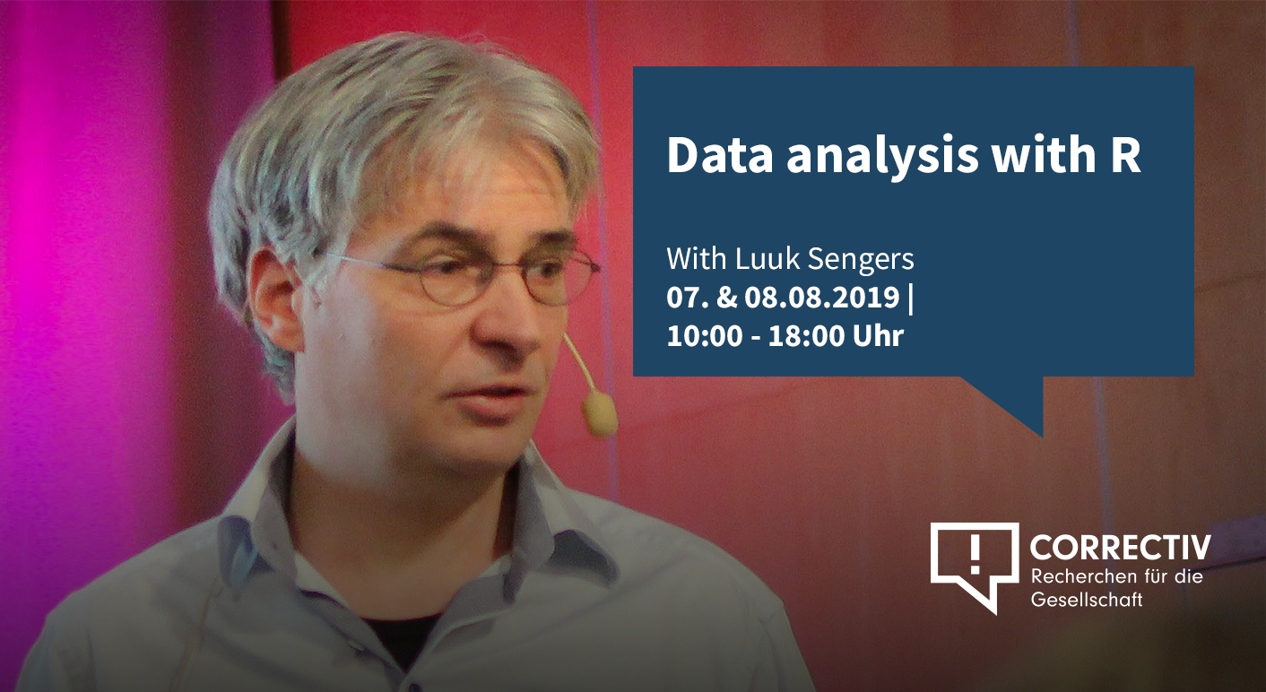 Day 2 – Data analysis with R – Workshop with Luuk Sengers