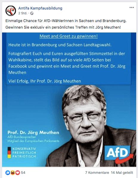 Landtagswahlen in Sachsen und Brandenburg: Nein, in der Wahlkabine darf man nicht fotografieren