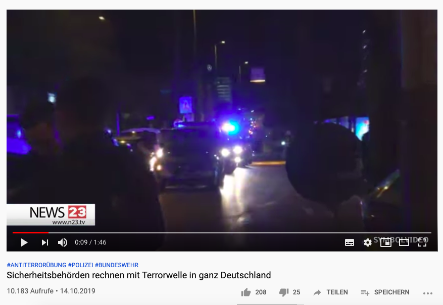 """Nein, Sicherheitsbehörden erwarten keine """"Terrorwelle in ganz Deutschland"""""""