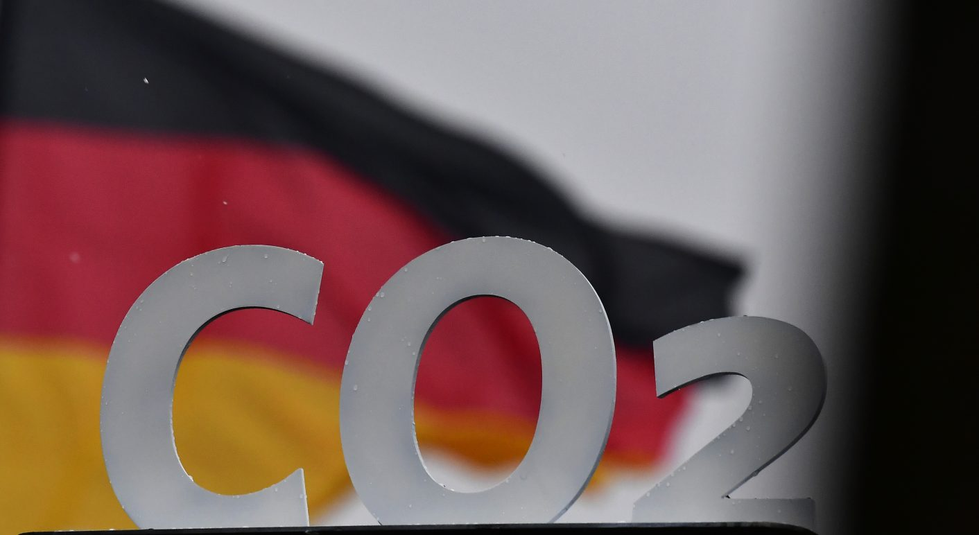 GERMANY-POLITICS-ENVIRONMENT-CO2